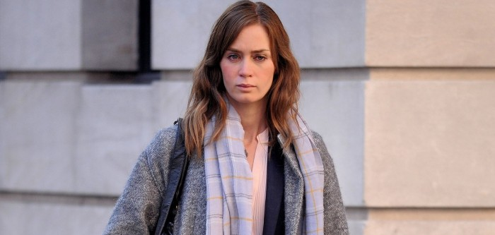 First look at Emily Blunt on The Girl on The Train Set