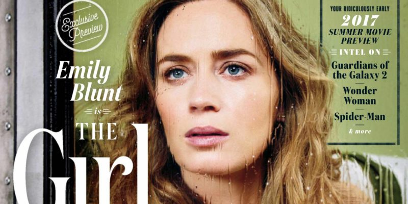 Emily Blunt covers Entertainment Weekly