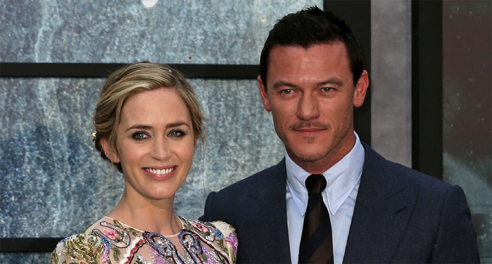 Emily Blunt attends The Girl on The Train London Premiere