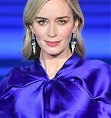 Emily Blunt at Mary Poppins London Premiere