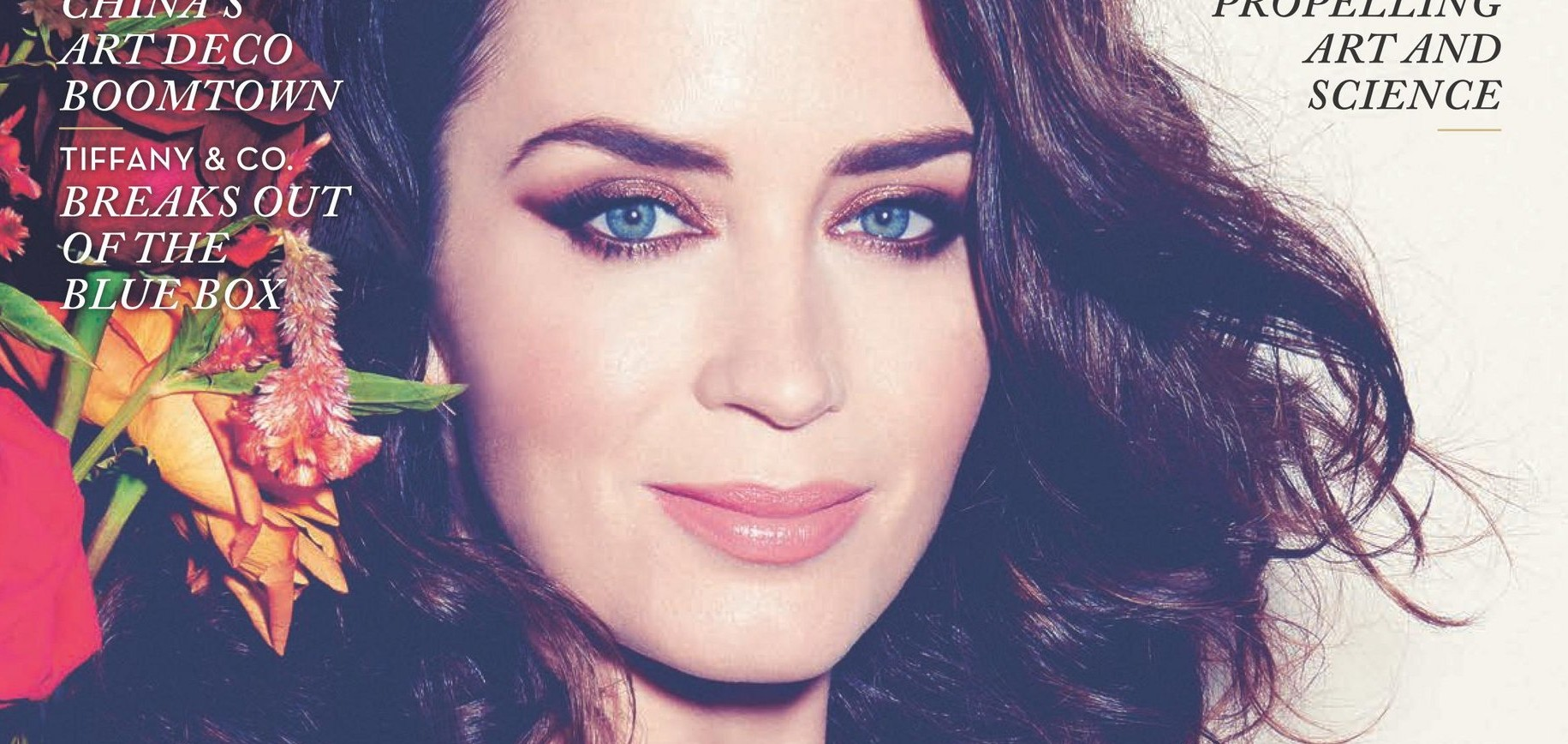 Emily Blunt covers Rhapsody Magazine – Scans + Photoshoot