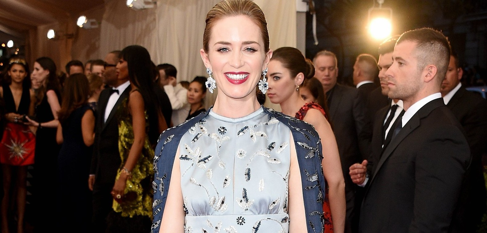 China: Through The Looking Glass Costume Institute Benefit Gala – First Look at Emily Blunt