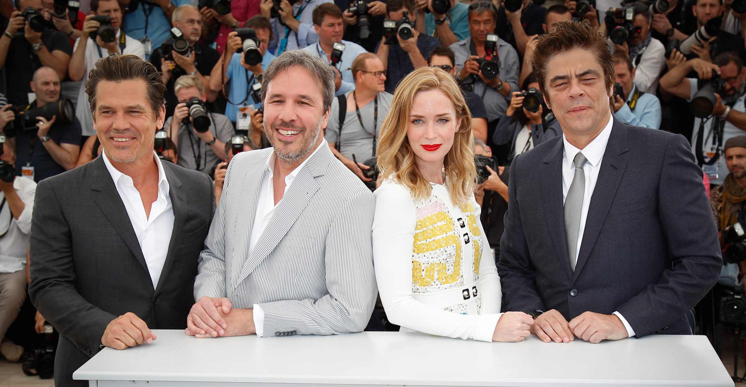 Cannes Film Festival – Sicario Photocall