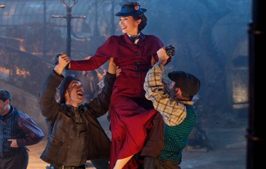Mary Poppins Returns Posters, Production Stills and Behind the Scenes Photos