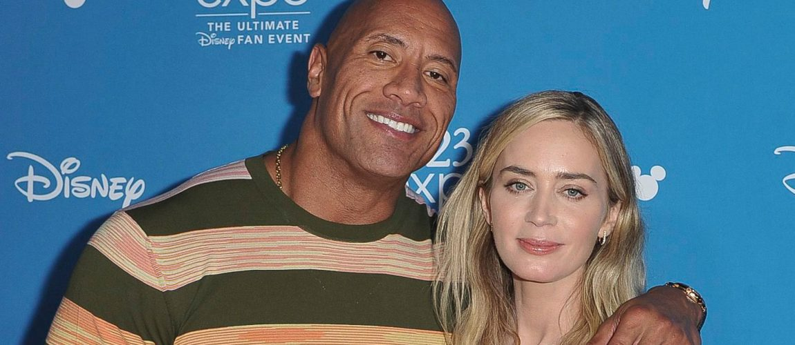 Dwayne Johnson, Emily Blunt Team Up for Superhero Film 'Ball and Chain'